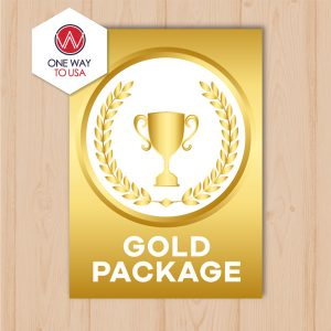 Gold Package por ONE WAY TO USA